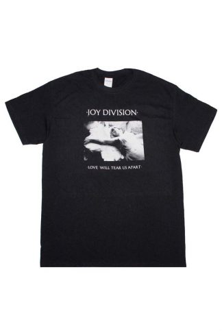 Joy Divison Love Will Tear Us Apart Band Tee