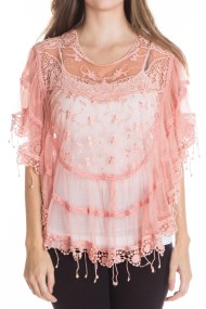 lace poncho PINK 1 190x285 Home