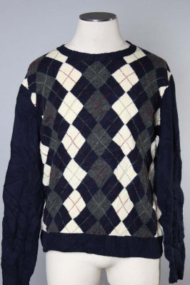 Men's Argyle Sweater 11 1