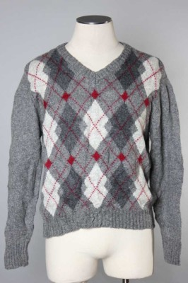 Men's Argyle Sweater 12 1