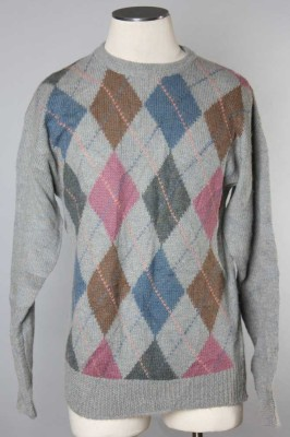 Men's Argyle Sweater 13 1