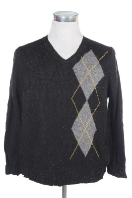 Men's Argyle Sweater 17 1