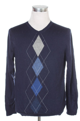 Men's Argyle Sweater 19 1