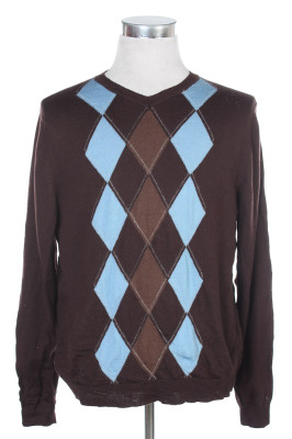 Men's Argyle Sweater 28 1