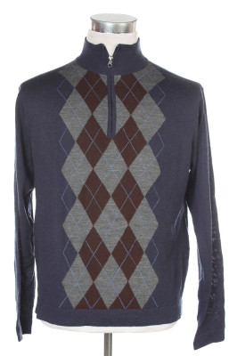 Men's Argyle Sweater 31 1