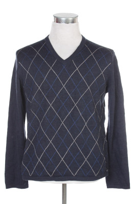Men's Argyle Sweater 32 1