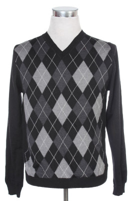 Men's Argyle Sweater 37 1