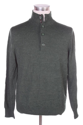 Men's Henley Sweater 19 1