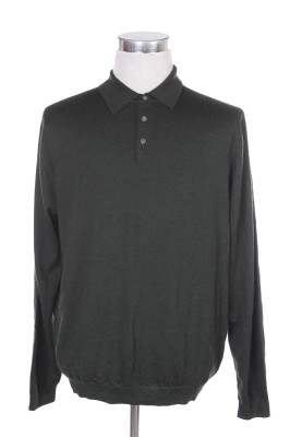 Men's Long Sleeve Polo 12 1
