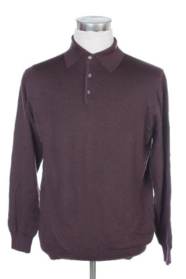 Men's Long Sleeve Polo 18 1