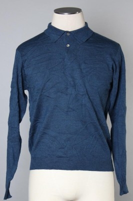 Men's Long Sleeve Polo 2 1
