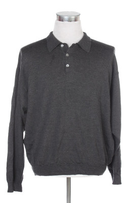 Men's Long Sleeve Polo 28 1