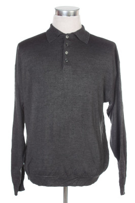 Men's Long Sleeve Polo 30 1