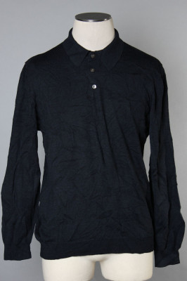 Men's Long Sleeve Polo 8 1