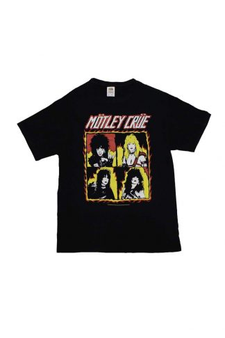 Motley Crue Shout at the Devil Flames T-Shirt