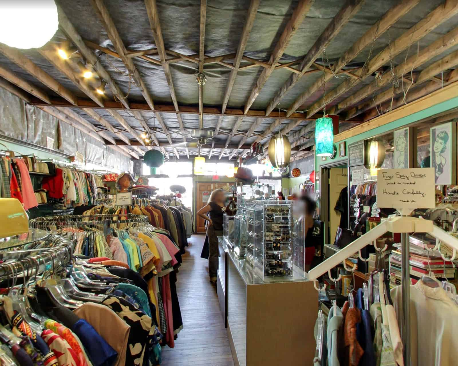 Inside Hip Zipper Vintage store Nashville TN