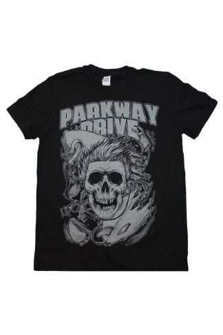 Parkway Drive Surfer Skull T-Shirt