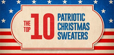 Patriotic Christmas Infographic