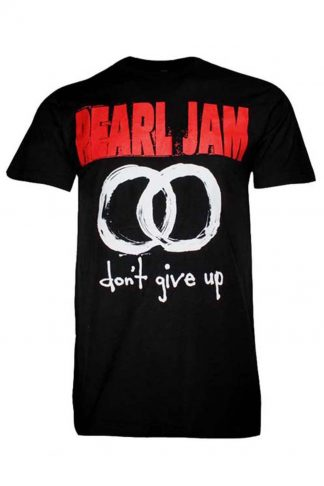 Pearl Jam don't give up band t-shirt