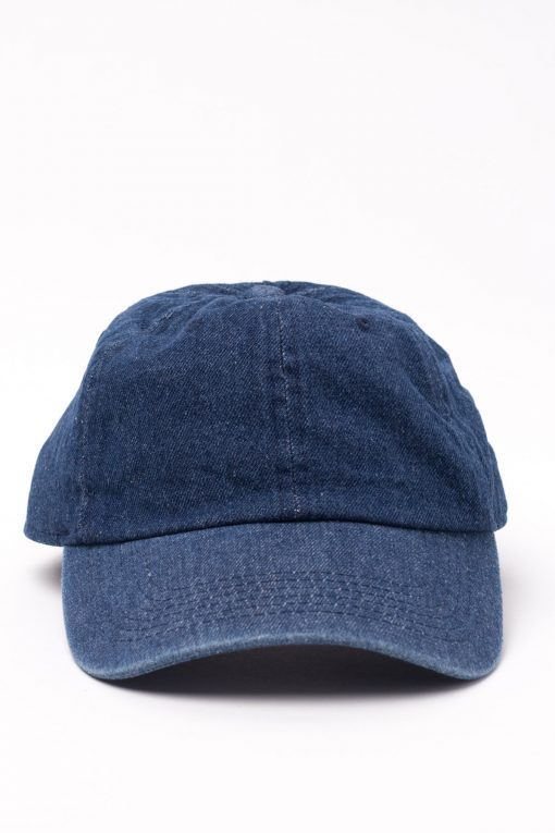 Dark Denim Dad Hat