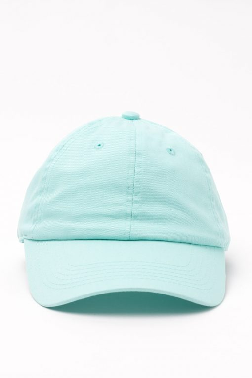 Solid Mint Dad Hat
