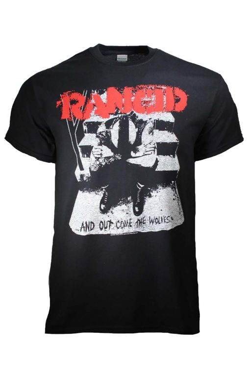Rancid And Out Come the Wolves T-Shirt
