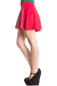 red scuba skirt 2 190x285 Ugly Christmas Sweaters