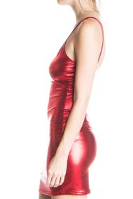 red thin strap metallic dress 3 190x285 Ugly Christmas Sweaters