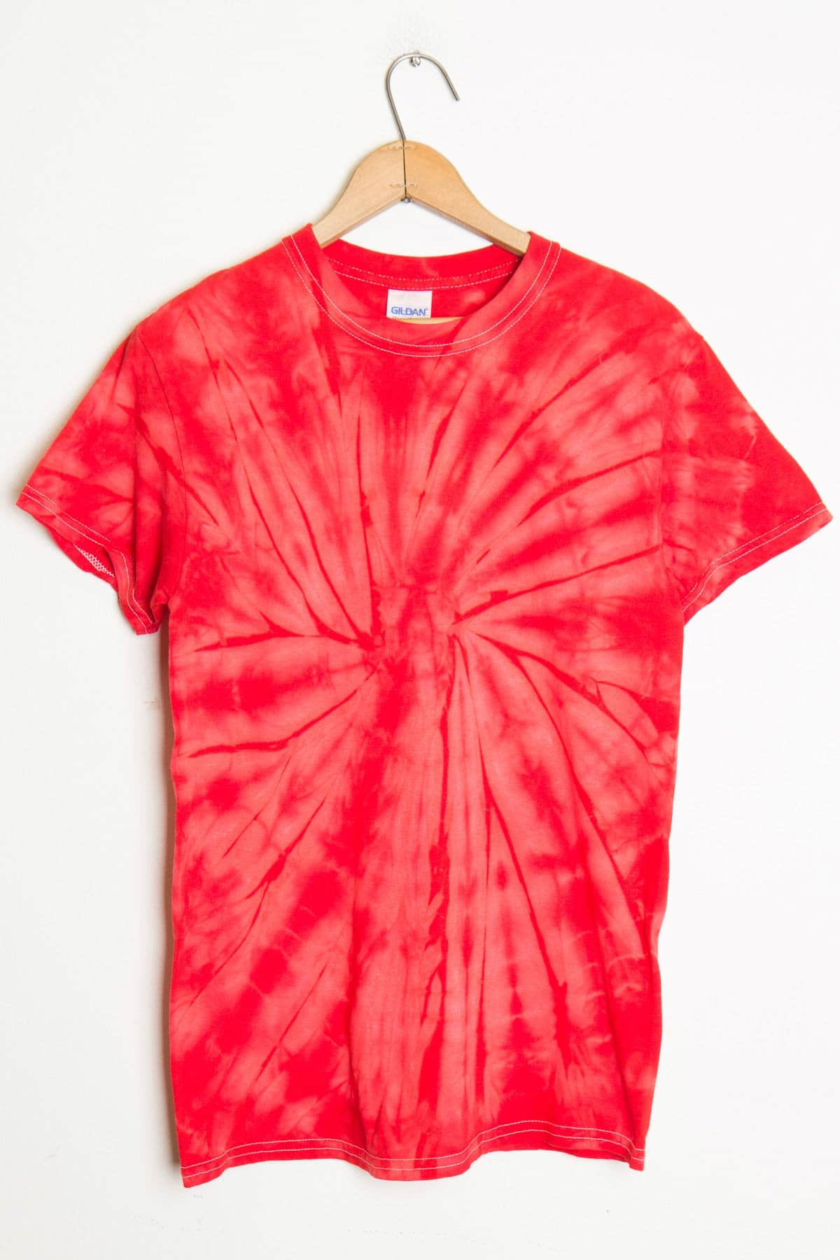 Pink and red shirt custom shirt for How do you dye a shirt