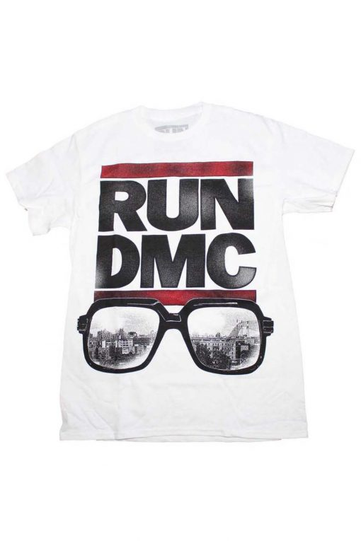 Run DMC Glasses NYC Band T Shirt