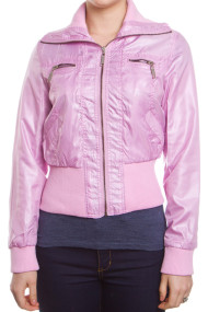 shiny-retro-moto-jacket-pink