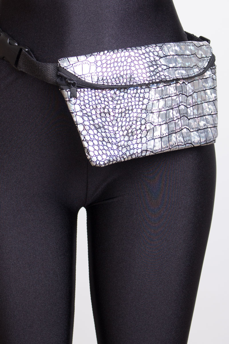Silver Dragon Fanny Pack