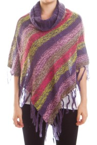 striped-knit-poncho-purple-1