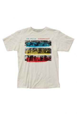 The Police Synchronicity Fitted Jersey T-Shirt
