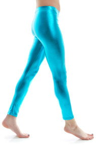 turquoise-metalic-latex-leggings