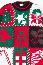 Multicolor Ugly Christmas Pullover 52652