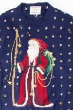 Blue Ugly Christmas Pullover 52978