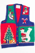 Multicolor Ugly Christmas Vest 50890