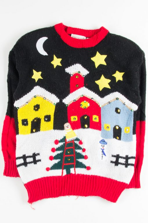 Black Ugly Christmas Pullover 51218