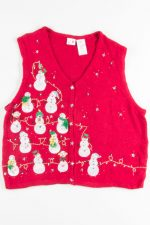 Red Ugly Christmas Vest 51309