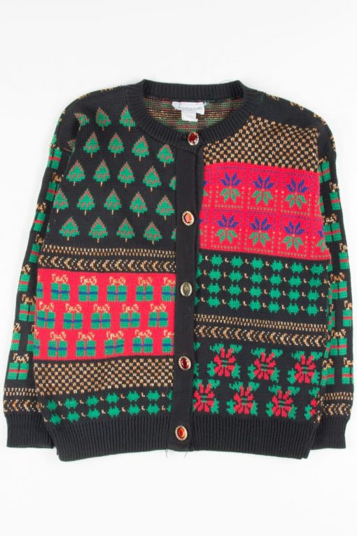 Multicolor Ugly Christmas Cardigan 52655