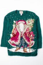 Green Ugly Christmas Pullover 52911