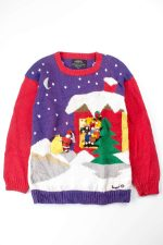 Multicolor Ugly Christmas Pullover 52999