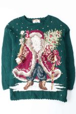 Green Ugly Christmas Pullover 53005