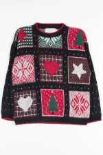 Black Ugly Christmas Pullover 53079