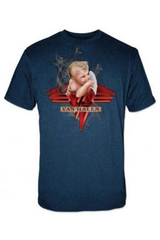 Van Halen Smoking Rock Band T Shirt