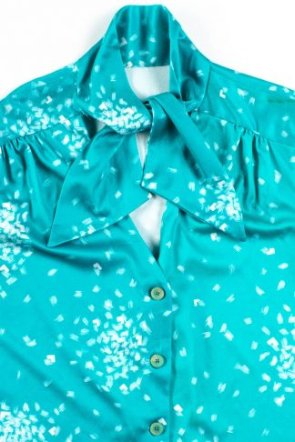 Blouse enter LOVE99 at checkout Clothing Womans Top V i n t a g e Print Blouse Vintage Clothing 50/% off this item