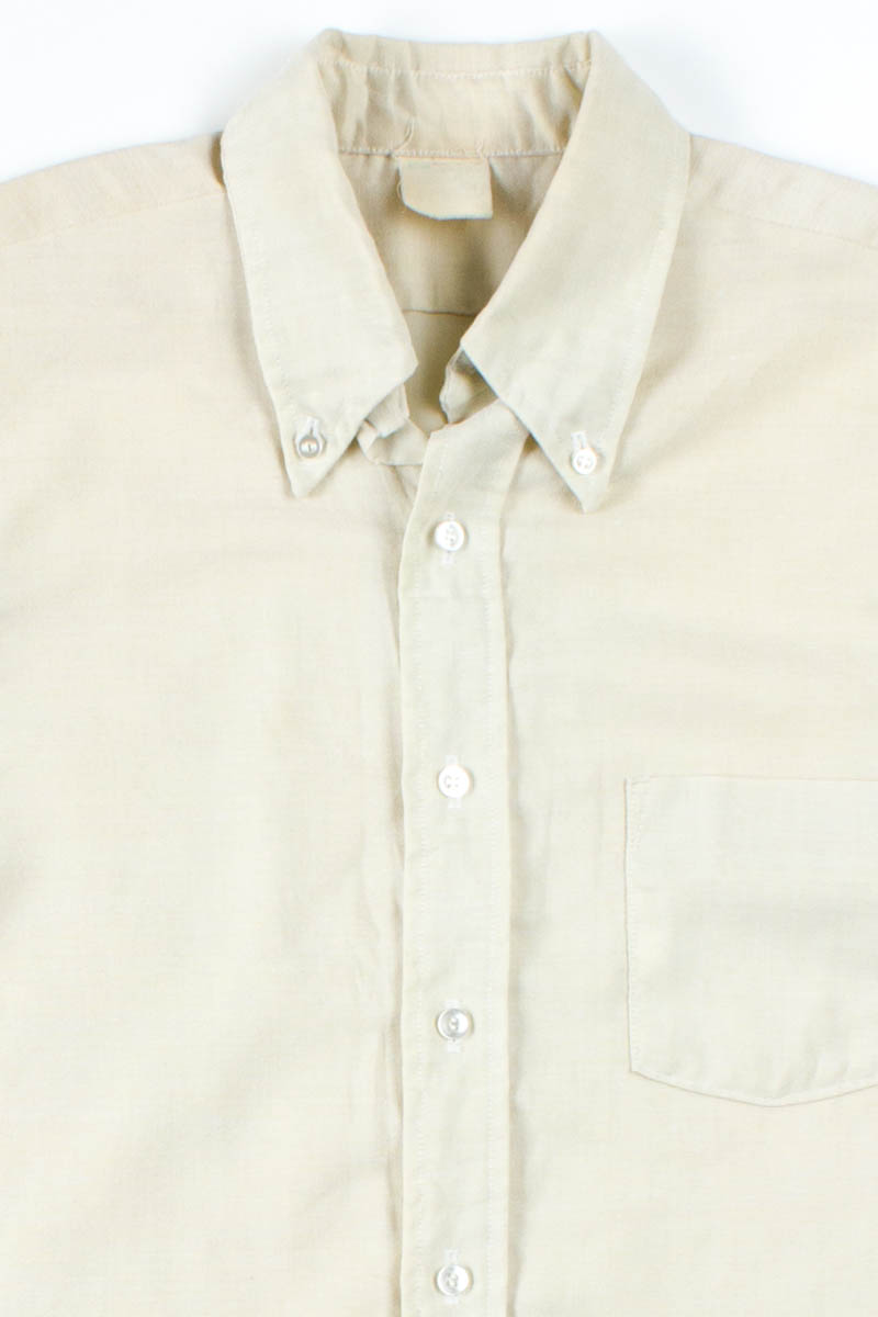 Beige Button Up Shirt