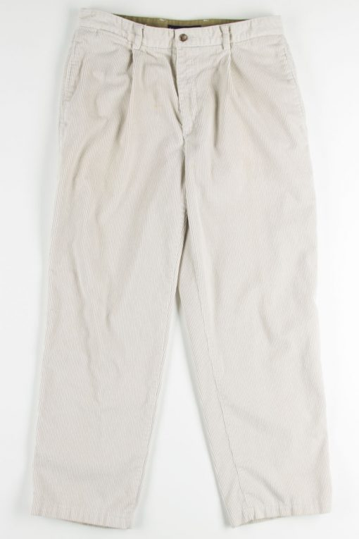 Off White Tommy Hilfiger Corduroy Pants