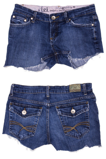 Cut Off Denim Shorts 26